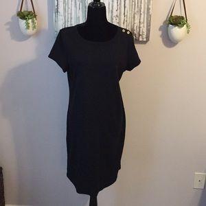 Talbots Black Knit Dress